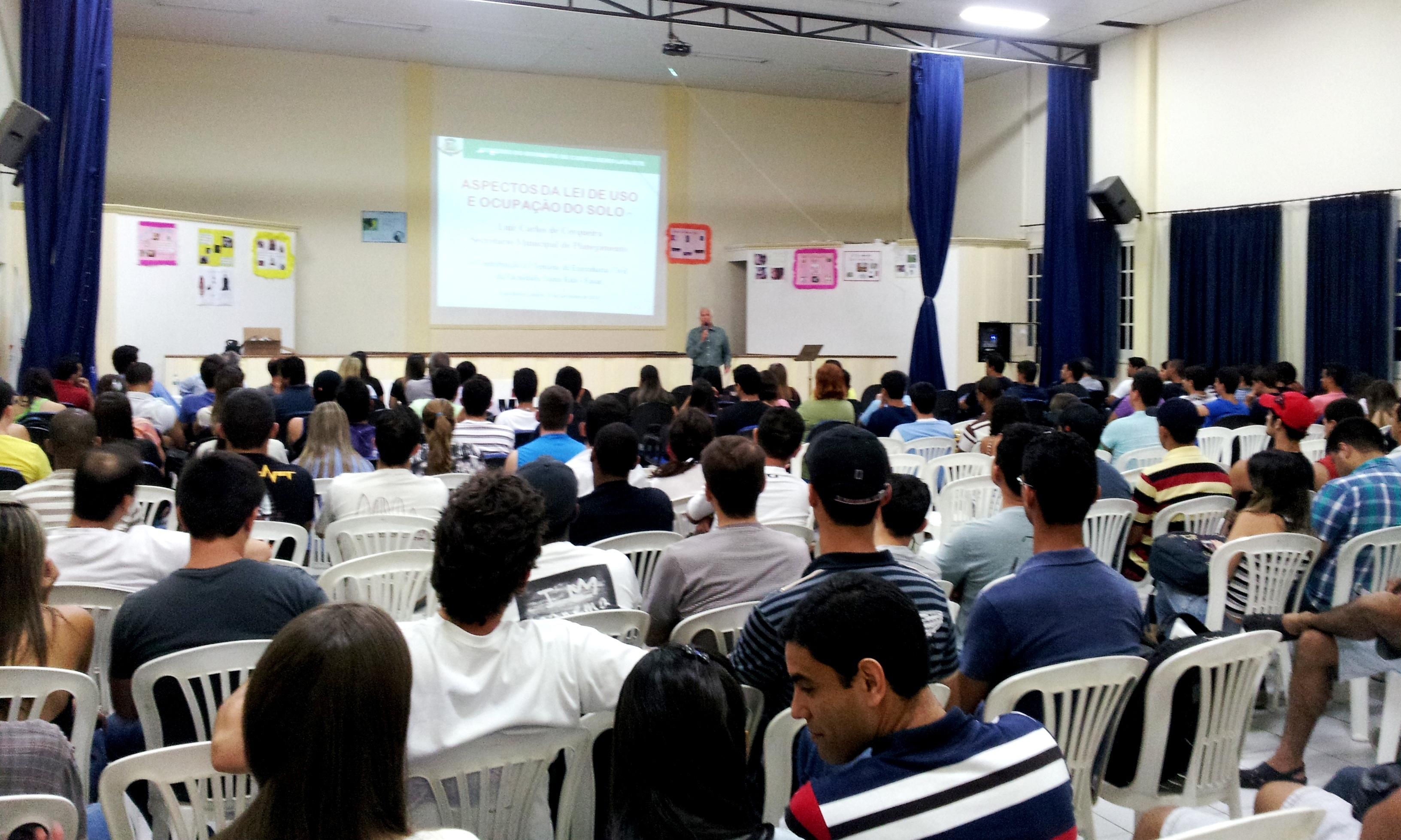 FaSaR realiza Semana Acadêmica de Engenharia Civil